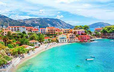 Flight tickets Prague Kefalonia
