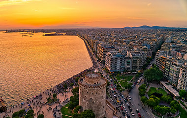 Flight tickets Prague Thessaloniki