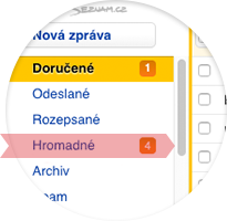 missing translation mailing_Doručené e-maily
